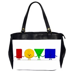 Love Oversize Office Handbag (two Sides) by Contest1716449