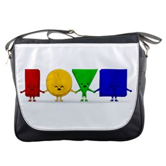 Love Messenger Bag by Contest1716449