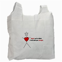 Antibully Lk Recycle Bag (one Side) by createdbylk