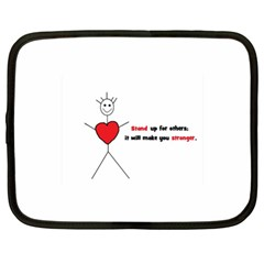 Antibully Lk Netbook Case (xl) by createdbylk