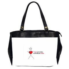 Antibully Lk Oversize Office Handbag (two Sides)