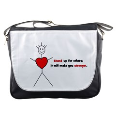 Antibully Lk Messenger Bag by createdbylk
