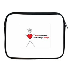 Antibully Lk Apple Ipad 2/3/4 Zipper Case by createdbylk