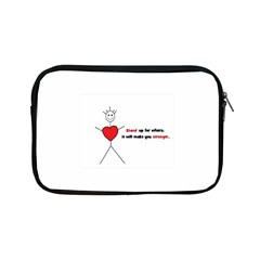 Antibully Lk Apple Ipad Mini Zipper Case by createdbylk