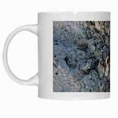 Sea Shells On The Shore White Coffee Mug by createdbylk
