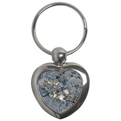 Sea Shells On The Shore Key Chain (heart) by createdbylk