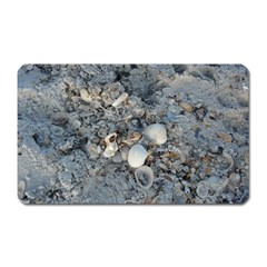 Sea Shells On The Shore Magnet (rectangular) by createdbylk
