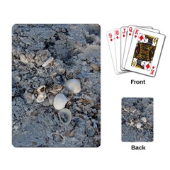 Sea Shells On The Shore Playing Cards Single Design