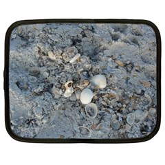 Sea Shells On The Shore Netbook Case (xxl) by createdbylk
