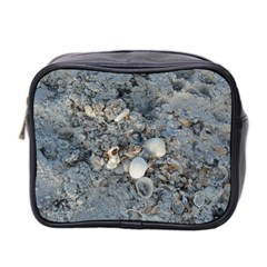 Sea Shells On The Shore Mini Travel Toiletry Bag (two Sides) by createdbylk