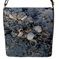Sea Shells On The Shore Flap Closure Messenger Bag (small)