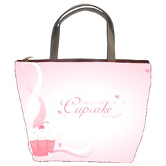 Cupcakesforall Bucket Bag by Contest1694379
