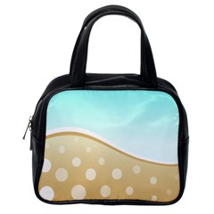 Wave Classic Handbag (one Side) by Contest1694379