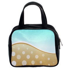 Wave Classic Handbag (two Sides) by Contest1694379