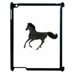 Running Horse Apple Ipad 2 Case (black) by mysticalimages