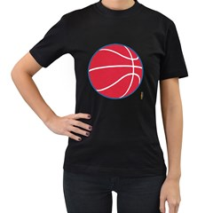 Los Angeles Clippers Basketballshirt Womens' T-shirt (black) by fokbrosspeedcow