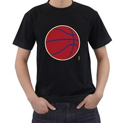 Cleveland Cavaliers Basketball Shirt Mens' T-shirt (black) by fokbrosspeedcow