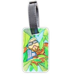 Tree Song Luggage Tag (one Side) by JacklyneMae