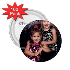Candence And Abbey   Copy 2 25  Button (100 Pack) by tammystotesandtreasures