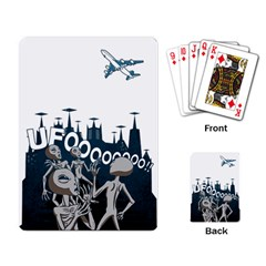 The Ufo Playing Cards Single Design