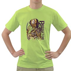 Predator Mens  T Shirt (green)