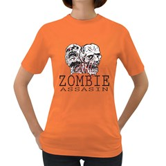 Zombie Assasin Womens' T-shirt (colored)