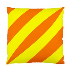 Oranges And Lemons Cushion Case (two Sided)  by colourconnectors