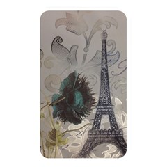 Floral Vintage Paris Eiffel Tower Art Memory Card Reader (rectangular) by chicelegantboutique