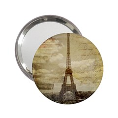 Elegant Vintage Paris Eiffel Tower Art Handbag Mirror (2 25 ) by chicelegantboutique