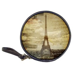 Elegant Vintage Paris Eiffel Tower Art Cd Wallet by chicelegantboutique