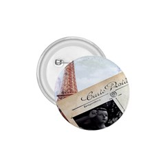French Postcard Vintage Paris Eiffel Tower 1 75  Button by chicelegantboutique