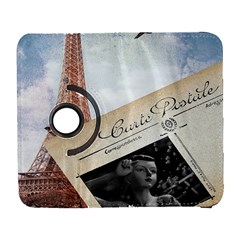 French Postcard Vintage Paris Eiffel Tower Samsung Galaxy S  Iii Flip 360 Case by chicelegantboutique