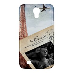 French Postcard Vintage Paris Eiffel Tower Samsung Galaxy Mega 6 3  I9200 by chicelegantboutique