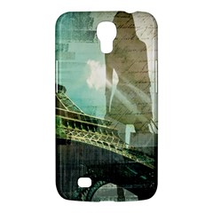 Modern Shopaholic Girl  Paris Eiffel Tower Art  Samsung Galaxy Mega 6 3  I9200 by chicelegantboutique