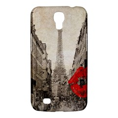 Elegant Red Kiss Love Paris Eiffel Tower Samsung Galaxy Mega 6 3  I9200 by chicelegantboutique