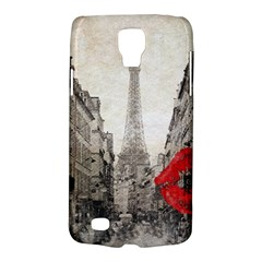 Elegant Red Kiss Love Paris Eiffel Tower Samsung Galaxy S4 Active (i9295) Hardshell Case