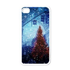 Elegant Winter Snow Flakes Gate Of Victory Paris France Apple Iphone 4 Case (white) by chicelegantboutique