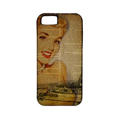 Yellow Dress Blonde Beauty   Apple Iphone 5 Classic Hardshell Case (pc+silicone) by chicelegantboutique