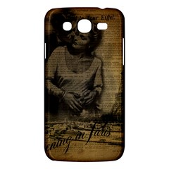 Romantic Kissing Couple Love Vintage Paris Eiffel Tower Samsung Galaxy Mega 5 8 I9152 Hardshell Case  by chicelegantboutique