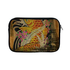 Funky Japanese Tattoo Koi Fish Graphic Art Apple Ipad Mini Zipper Case by chicelegantboutique