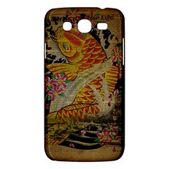 Funky Japanese Tattoo Koi Fish Graphic Art Samsung Galaxy Mega 5 8 I9152 Hardshell Case  by chicelegantboutique