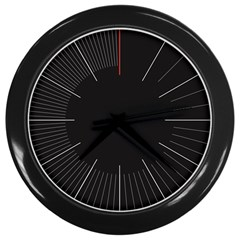 A Clock Wall Clock (black) by Contest1736494