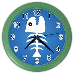 Fishy  Wall Clock (color) by Contest1738544