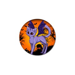 Serukivampirecat Golf Ball Marker 4 Pack by Kittichu