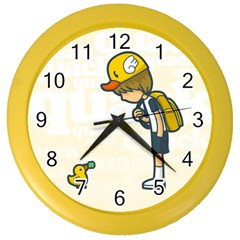 Quack Wall Clock (color) by Contest1739121