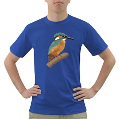 Kingfisher Mens' T-shirt (colored) by Janko
