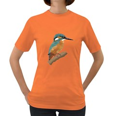 Kingfisher Womens' T-shirt (colored) by Janko