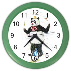 I Wanna Be Colorful Wall Clock (color) by Contest1736674
