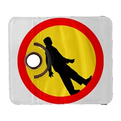 Walking Traffic Sign Samsung Galaxy S  Iii Flip 360 Case by youshidesign