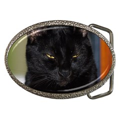 I Am Watching You! Belt Buckle (oval)